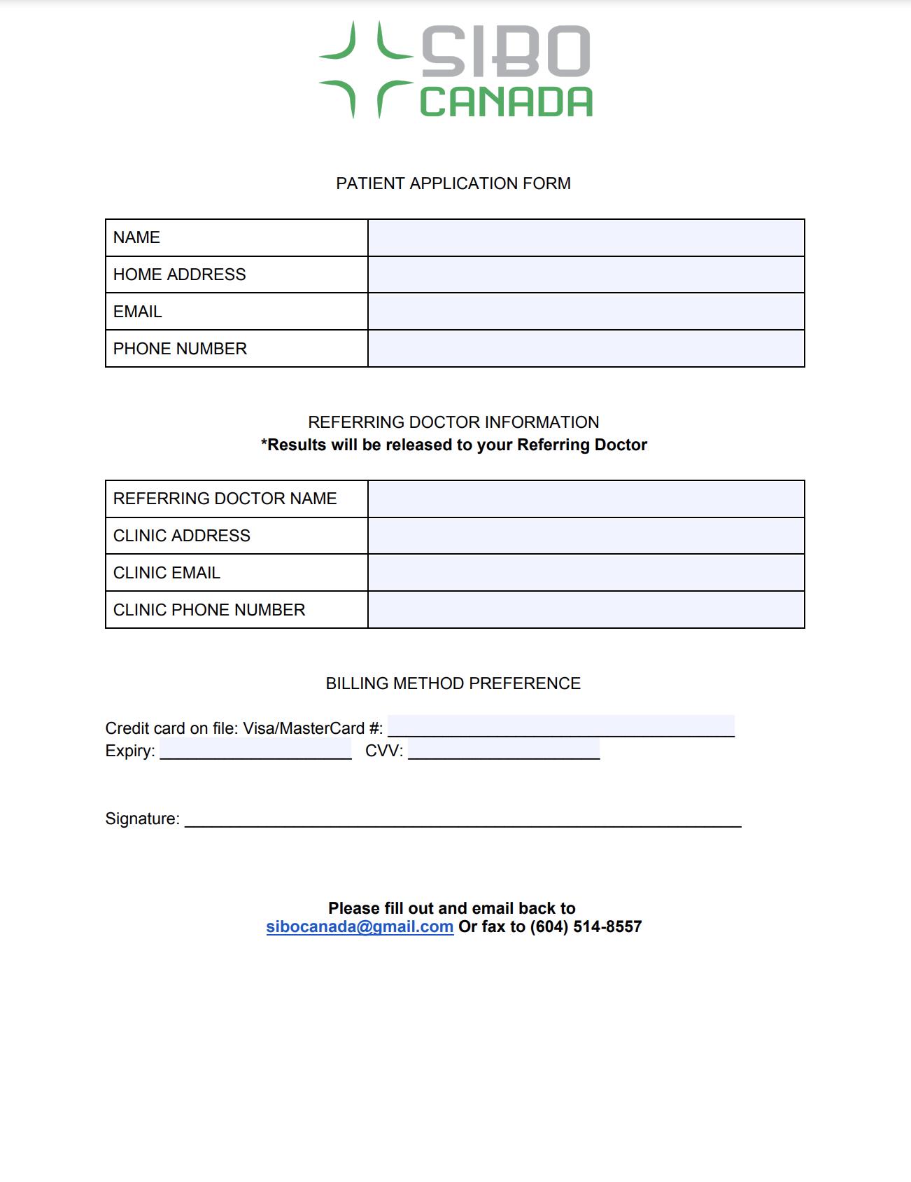 Practitioner Application Form